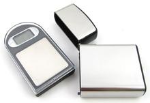 2 unids/lote 100 g X 0.01 g Digital Mini Pocket Digital Scale con el caso para laboratorio joyería equilibrio electrónica oro Gram bolsillo de la joyería
