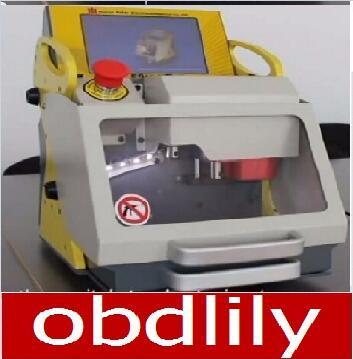 China best automatic key cutting machine SEC-E9 English version portable smart duplicate car key cutting machine for Locksmith(China (Mainland))