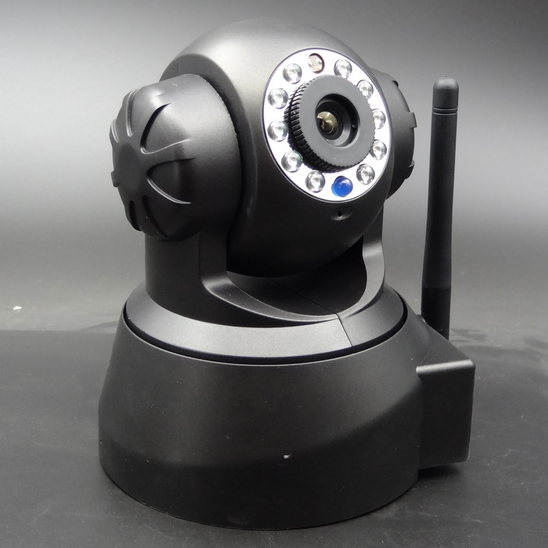 Top quality portable wireless pan tilt ip camera/home security remote rotate pan tilt ip camera/NTP full hd(China (Mainland))