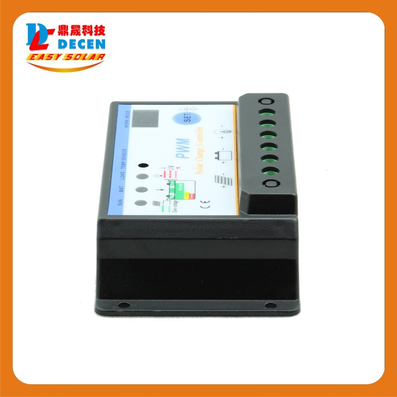 S101 10A 12V/24V controller for off-grid solar system, in solar lighting system and protects the battery from being over charged(China (Mainland))