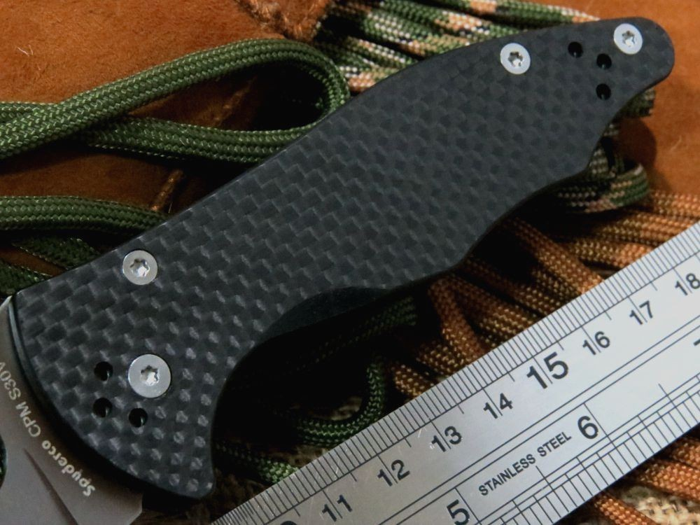 Buy Carbon Fiber Handle Knife C85 mofel 9Cr Blade C85GP2 Folding Fixable knife camping hunting knives Outdoors EDC Tool cheap