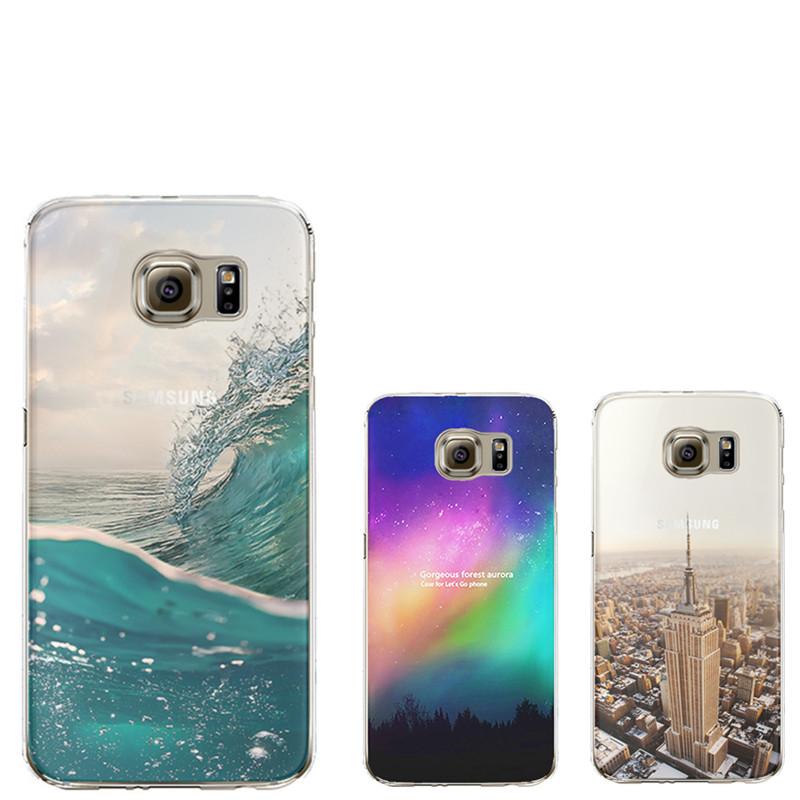 Ultra Thin Soft Silicon Fashion Transparent Back Coque Samsung Galaxy S4 S5 S6 S7 Edge J5 Core Grand Prime Case iPhone - ShenZhen Green Sky Technology Ltd store