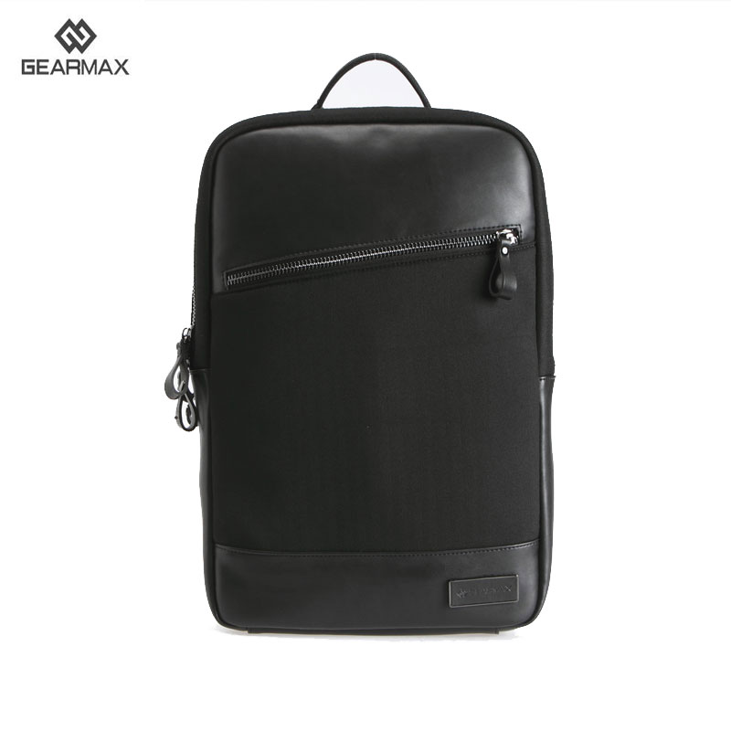 Фотография 2016 New Arrival Laptop Backpacks 14 15 Inch+Free Gift Keyboard Cover for MacBook Pro 15.4 Inch Waterproof GENUINE LEATHER Bags
