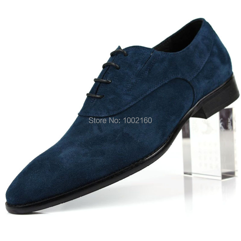 The British pointed Mens Casual leather shoes shoes grind sand European version of mens leather shoes suede leather<br><br>Aliexpress