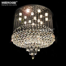 Free Shipping Large Crystal Chandelier Luxury Crystal Light Fashion Lighting Fixture Crystal Lustre Living Room Foyer Hotel Lamp(China (Mainland))