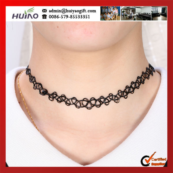 2015 Collier Accessories Trendy Hot New Fashion Jewelry Fishing Line Weave Tattoo Choker Necklace Gift For
