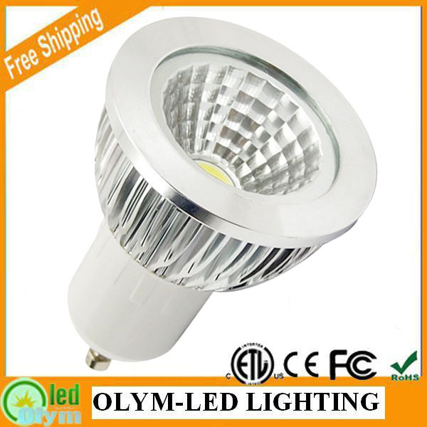 10Pcs/Lot Best Quality COB GU10 LED Lamp 5W 7W Dimmable GU 10 Spotlight Bulb Energy Saving CE RoHS Free shipping(China (Mainland))