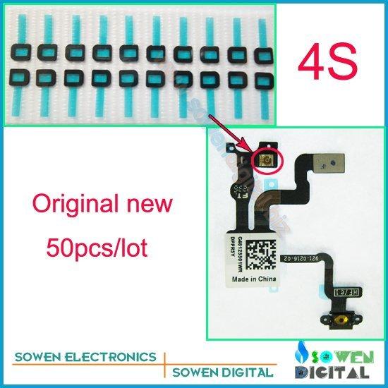 shielded sponge with gasket cushion for iphone 4s power flex sensor flex cable Light sensor Assist Sponge ,Free shipping
