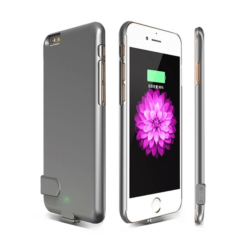 1500Mah Ultra thin Power Bank Case For Apple iphone 6 6S 4.7 External Charger Case Backup Battery Cover Battery Charger Cases