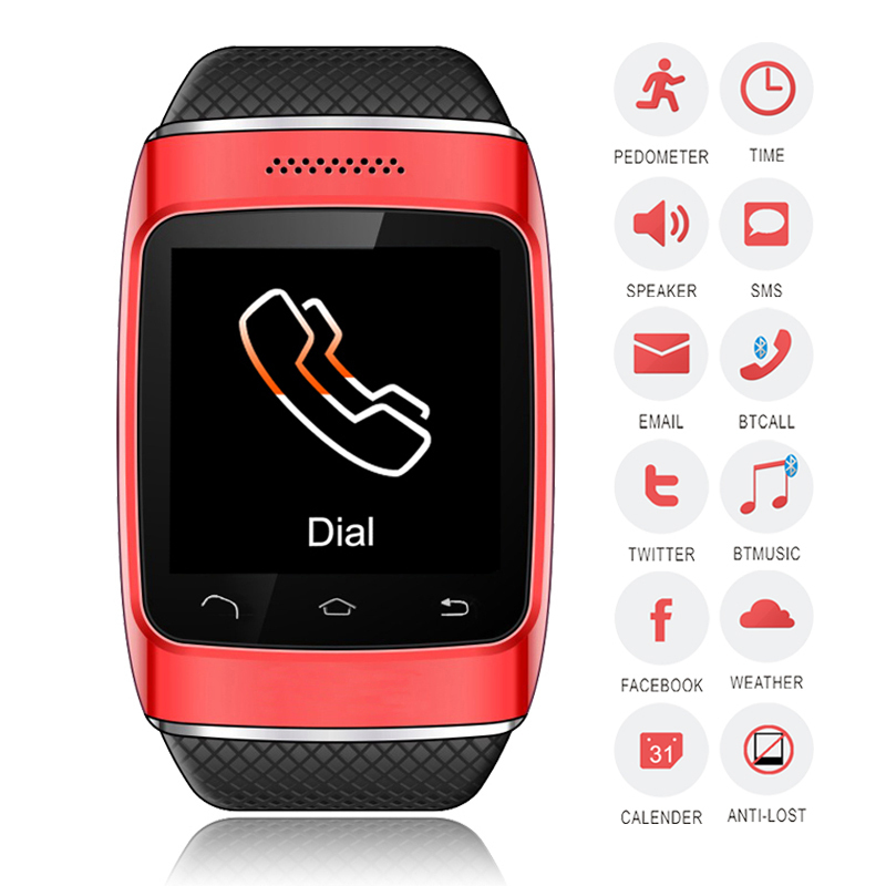 product New Smart Watch S12 Bluetooth Smart Watch Sync Call SMS Anti-lost for Android Samsung S3/S4/S5/Note 2/Note 3 HTC Sony Blackberry