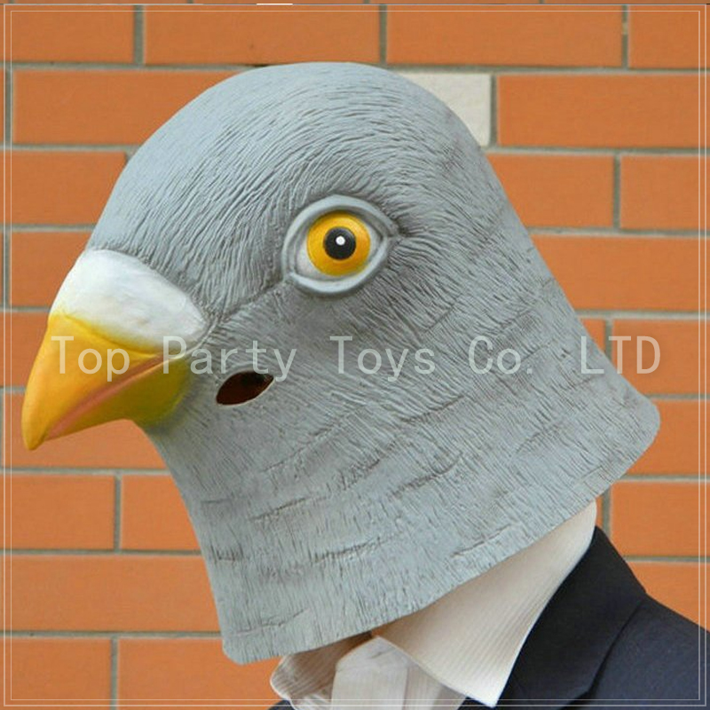 Halloween Pigeon Mask Bird Head Mask Masquerade Party Bar Decorations Free shipping(China (Mainland))