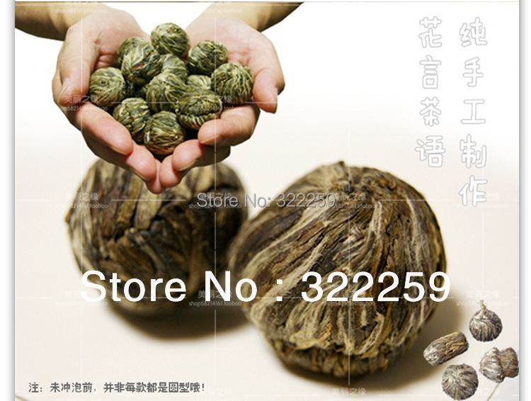 GREENFIELD PROMOTION 10pcs Different kinds Chinese Blooming Flower Tea 100 Handmade Artistic Blossom Flower Tea