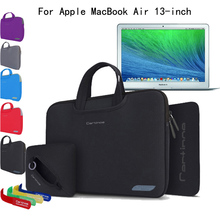 For Apple MacBook Air 13, 13.3 inch Laptop 4-in-1 Slim Neoprene Skin Shockproof Sleeve Carrying Case Briefcase Bag Pouch Cover