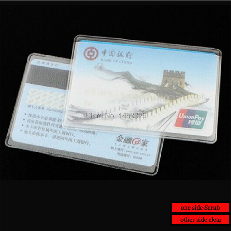 Clear Bank Bags Credit id Bank Card Clear