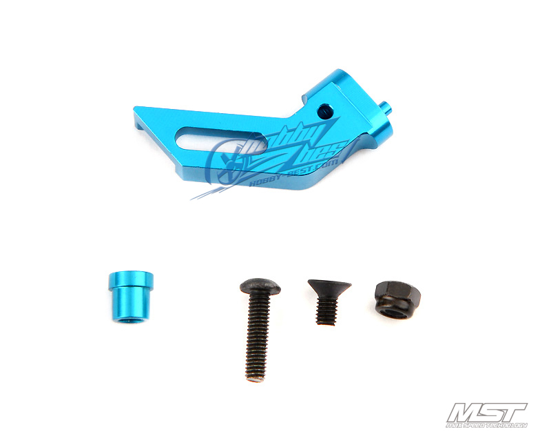 MST Alum. belt stabilizer mount (blue) [210123](China (Mainland))