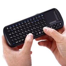 Russian/English Mini wireless keyboard iPazzPort air Mouse Touchpad QWERT gaming keyboard laptop pc for Android Smart TV BOX(China (Mainland))