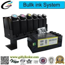 Continous Ink Supply System for Roland LEJ 640 CISS Ink System with Permanent Chip LEJ-640 + 6000ML LED UV Ink for Each Color