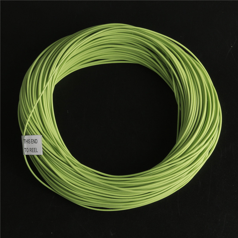 Top quality double taper floating fly fishing line 100ft for Floating fishing line