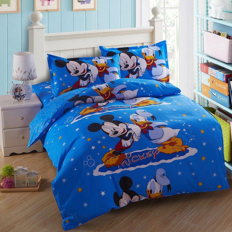mickey mouse literie ensemble achetez des lots petit. Black Bedroom Furniture Sets. Home Design Ideas