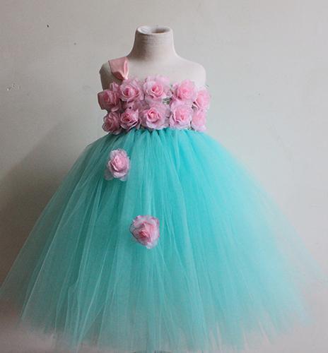 Baby Blue Tutu Dress Baby Girl Easter Tutu Dress