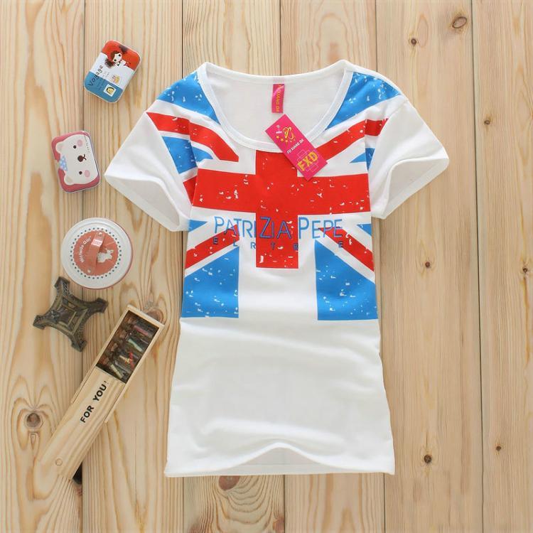 Women's female clothes top short-sleeve T-shirt night market(China (Mainland))