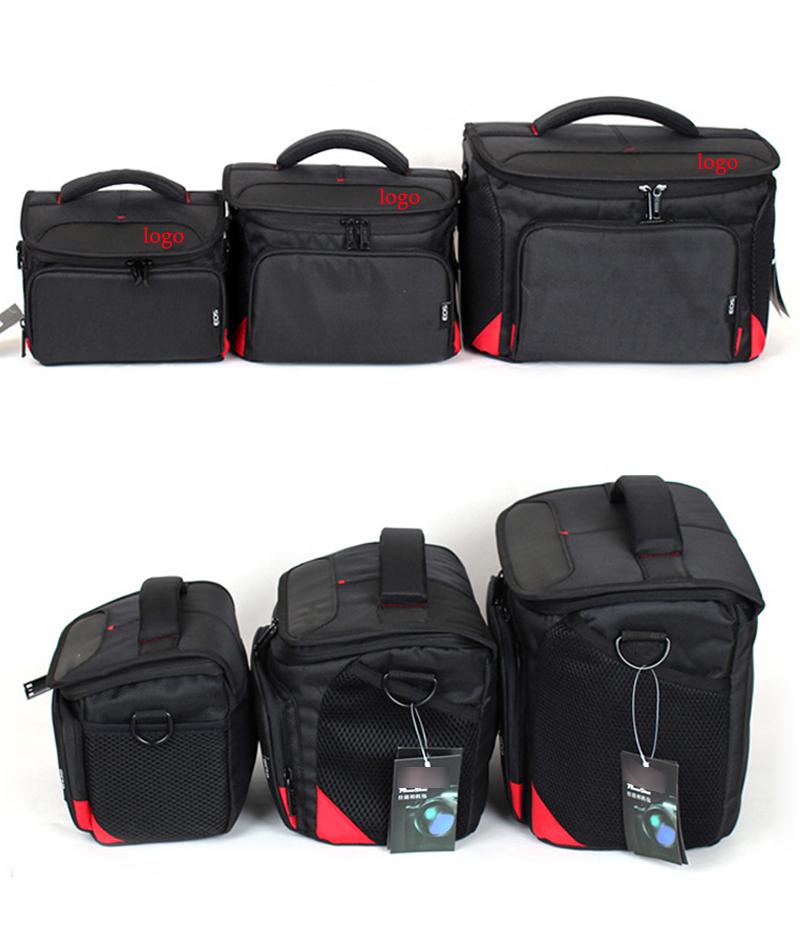 Waterproof Camera Bag for Canon 1200D 100D 550D 600D 650D 700D 70D 7D Digital camera messenger bags different sizes(China (Mainland))