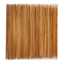 Buy PHFU 5 Sets 11 Sizes 5'', 13cm Double Pointed Carbonized Bamboo Knitting Kits Needles Set (2.0mm 5.0mm) for $1.77 in AliExpress store