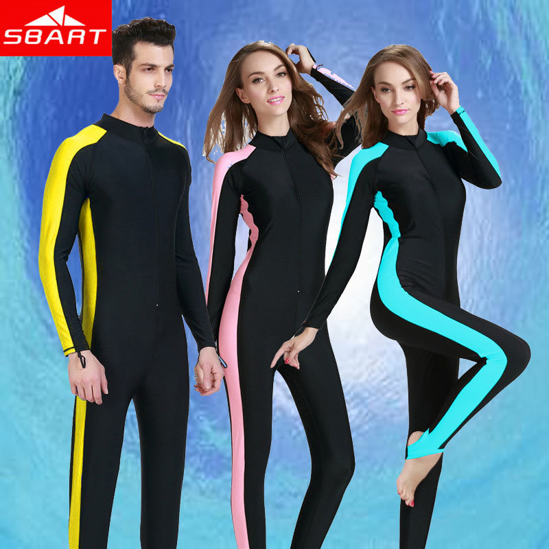 SBART Sun Protection Upf 50+ Women Lycra Wetsuit Diving Suit Rash Guard Rashguard Swimwear For Diving Snorkeling Surfing Suits L(China (Mainland))