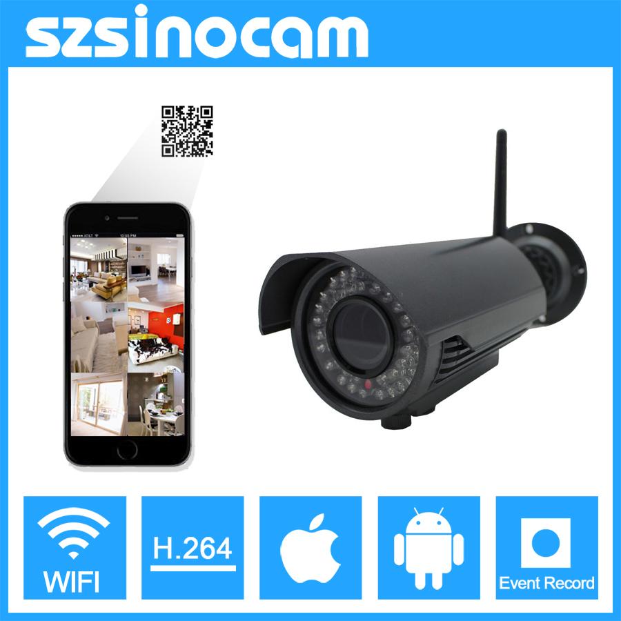 2.0 mp 1080P IP Camera Wireless Wifi bullet ir camera CCTV P2P Camera home security camera surveillance onvif webcam(China (Mainland))