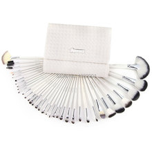 36 PCS WHITE SWAN FULL MAKEUP BRUSHES SET WITH CASE