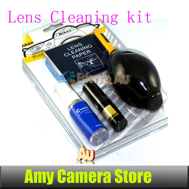 NEW 7in1 Professional Lens Cleaning kit For Canon Nikon Free Shipping