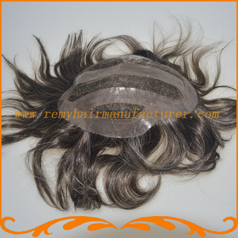 New arrival ,toupee,7*9inch swiss lace and PU around ,Invisible knots,very natural Indian hair mens wig .free shipping DHL.FEDex<br><br>Aliexpress