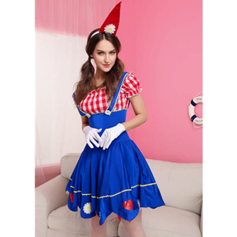 Image Gallery Lady Gnome Fancy Dress  sc 1 st  Meningrey & Women Gnome Costume - Meningrey