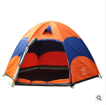 New Portable Tent Outdoor Camping Family Canopy Professional 3 4 tourist Tent All Seasons