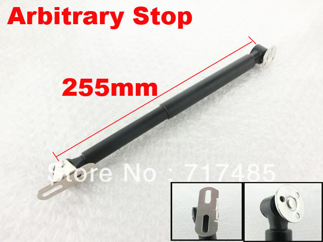 10inch GAS SPRING Arbitrary Stop Furniture Cabinet Door Lift UP Gas Spring Support Strut Free Shipping (2pcs)(China (Mainland))