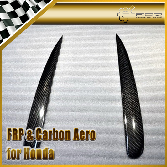 Car Styling For Honda S2000 AP1 AP2 Carbon Fiber Headlight Eyebrow Eyelid 2pcs<br><br>Aliexpress