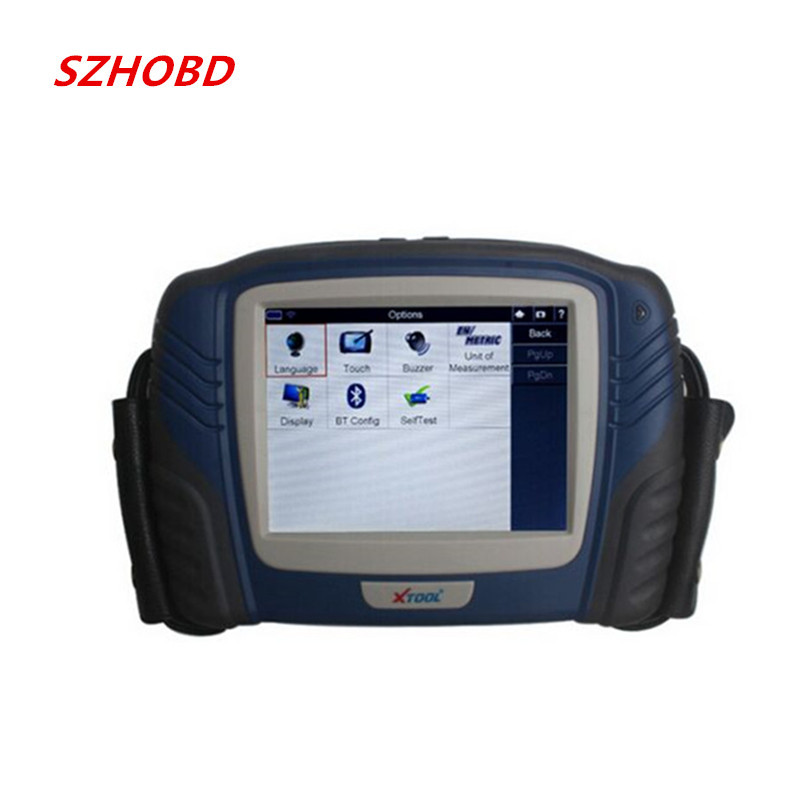 100% Original Xtool PS2 Professional Automobile Heavy Duty Truck Diagnostic Tool obdii tools Update Online DHL free(China (Mainland))