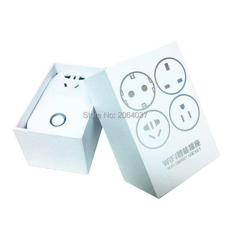 image for 220v Timer Eu Plug Outlet Adapter Wireless Remote Control App Smart Ho