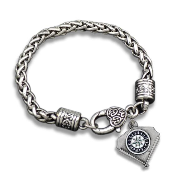 Love Sport Seattle Mariners Bracelet For Men(China (Mainland))