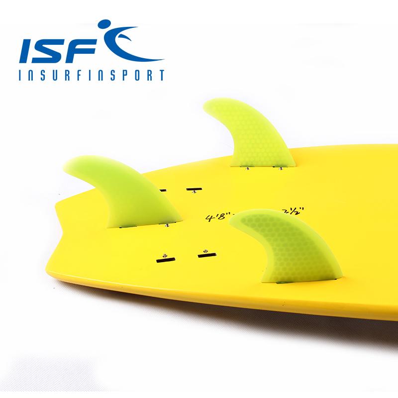 Lemon FCS surfboard fins quilhas longboard paddle surfboard fins carbonfiber four Quad FCS future fin(China (Mainland))