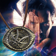 Buy Hot Fantasy Film Doctor Strange Necklaces & Pendants Vintage Dr.Strange Eye Pendant Leather Chain Choker Necklace Collares for $1.18 in AliExpress store