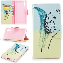 Buy Sony Xperia XZ Phone Cases Pattern Printing Phone Leather Wallet Bag Case Sony Xperia XZs / X Z Cover Feather Pattern for $3.88 in AliExpress store