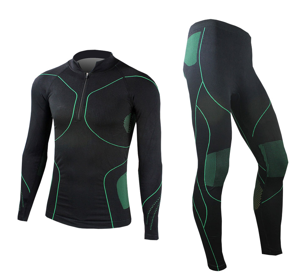2014 Mens Compression Base Layer Winter UnderWear Outdoor Sports Long Sleeve Shirts+Pants C12010<br><br>Aliexpress