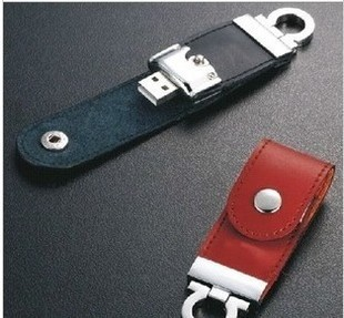 High Speed Leather Key Chain USB 2.0 Flash Drive 8GB 16GB 32GB Memory Stick Thumb Disk / Car / Pen Drives Free Shipping(China (Mainland))