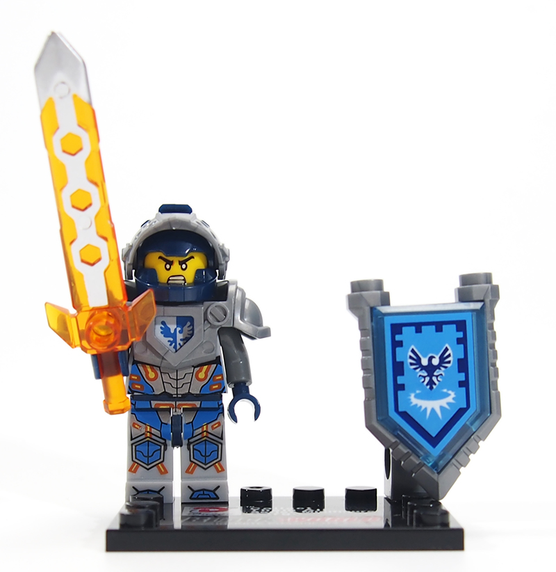 Combination Knights minifigures Building Blocks Royal Soldier Lance Crust Smasher Toys Gift Minifigures Compatible With Lego(China (Mainland))