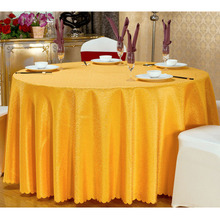 Nice Quality Wedding Party Decorarion Table Cloth Round Jacquard Design White Banquet Tablecloth Table Covers Home Textile  (China (Mainland))