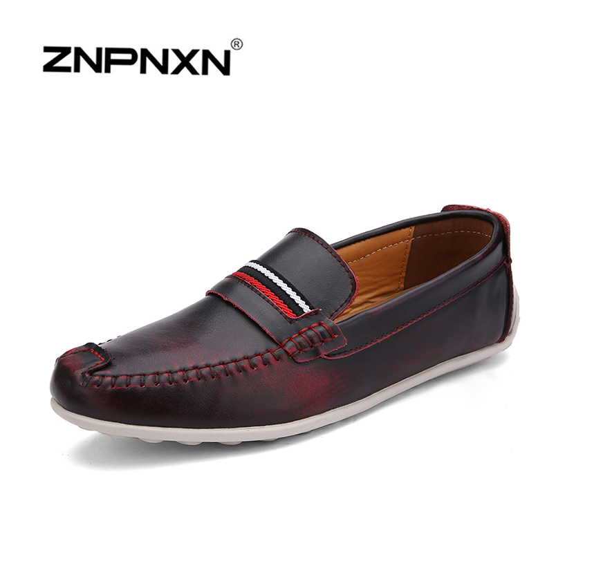 2015 ZNPNXN new Leather shoes men sneakers autumn men flats korean  fashion  men Flats shoes breathable casual shoes<br><br>Aliexpress