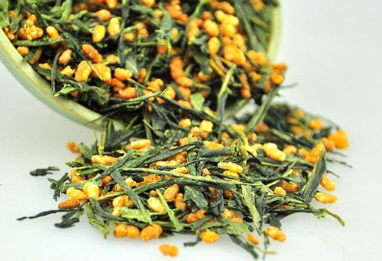 Купить еда free shipping 500g premium brown rrice green tea genmaicha none