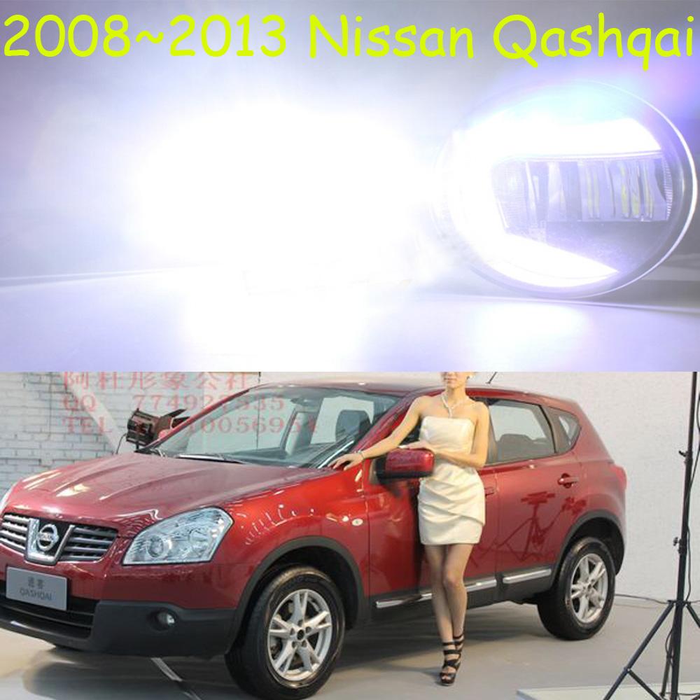Osram 2008~2013 Qashqai SUV LED daytime running fog light,2pcs+wire of harness,12V,7W DRL 8000K+15W 6000K Fog,Free ship!<br><br>Aliexpress