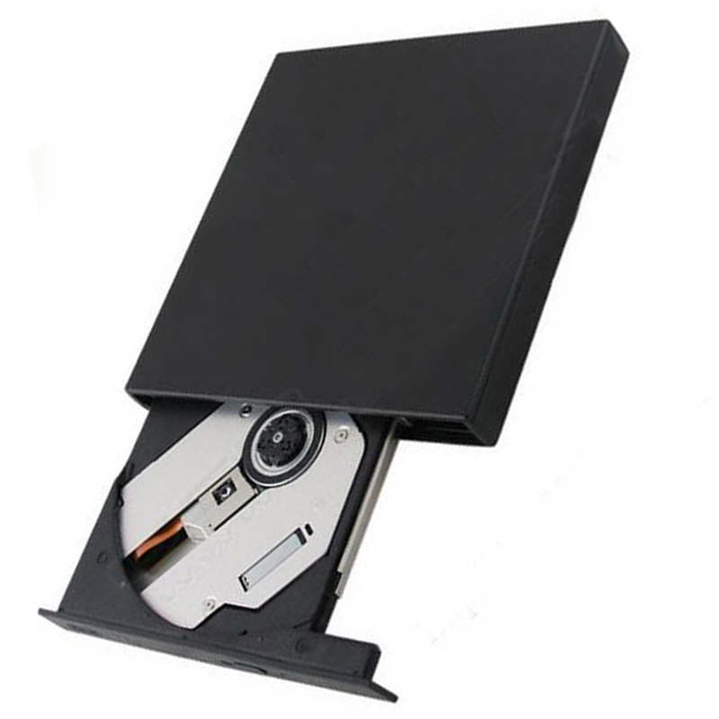External USB Super Multi Dual Layer 8X DL DVD RW Burner CD Writer Slim Portable Optical Drive for Asus Samsung Acer Netbook New(China (Mainland))